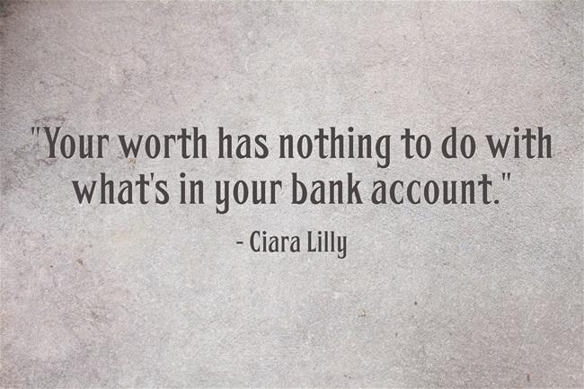 Worth Quote
